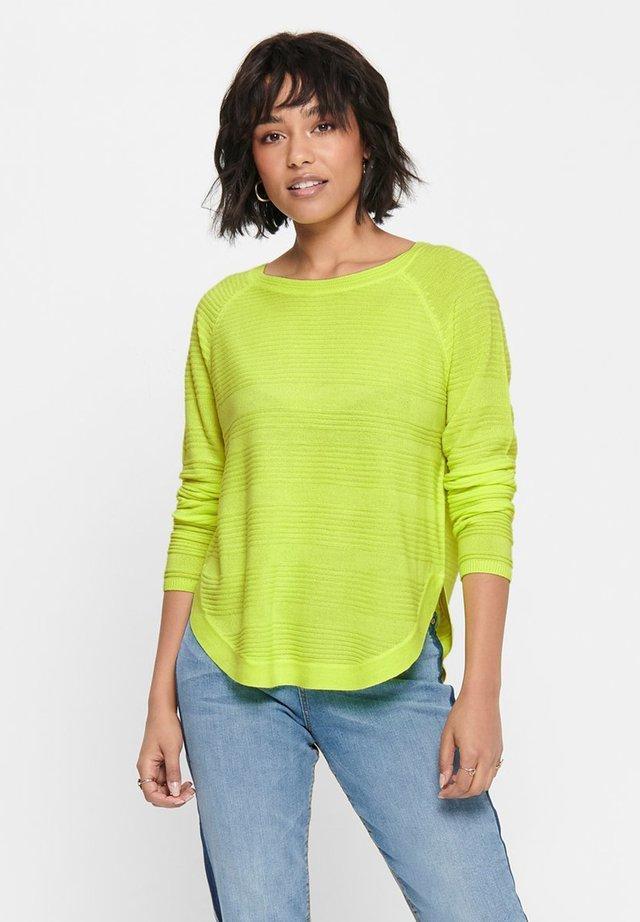 Jersey de punto - neon yellow
