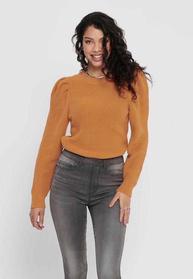 Jersey de punto - sun orange