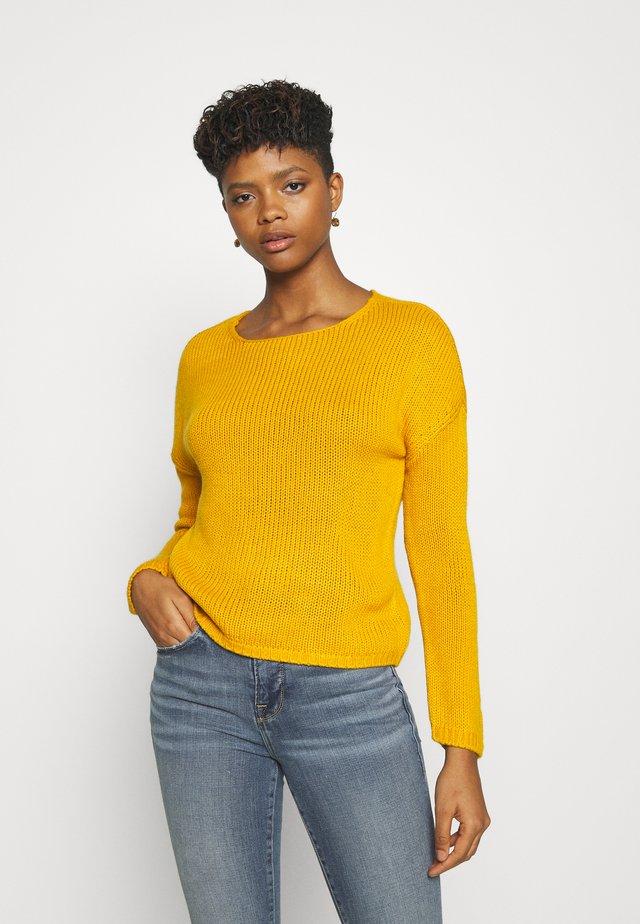 ONLLEXI  - Jersey de punto - golden yellow