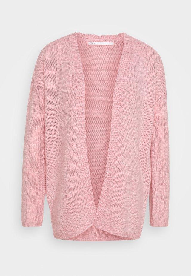 ONLLEXI CARDIGAN - Vest - cameo rose/melange