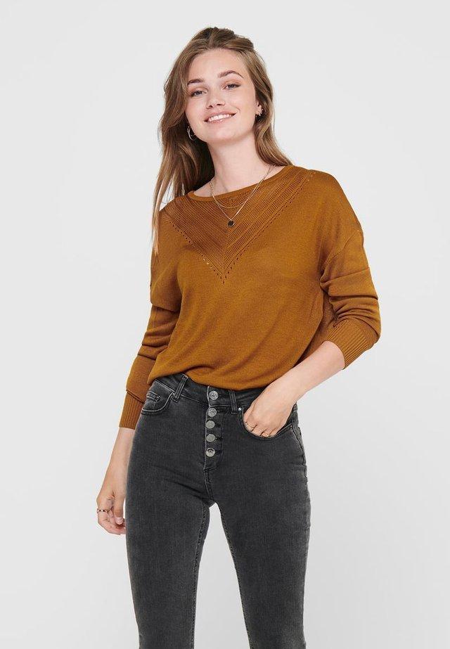 Jersey de punto - pumpkin spice
