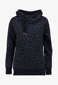 ONLY - ONLJALENE  HOOD - Hoodie - night sky/white dots - 5