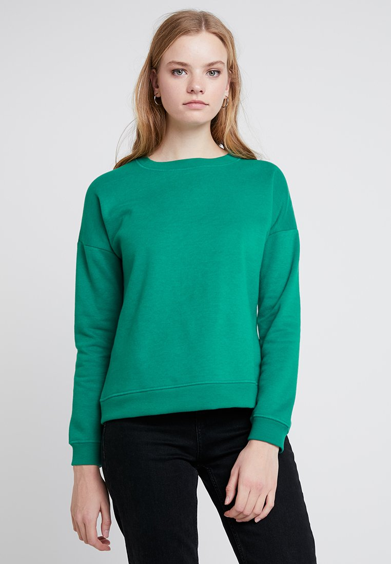 ONLY - ONLAWESOME O-NECK REGULAR - Sweatshirts - cadmium green