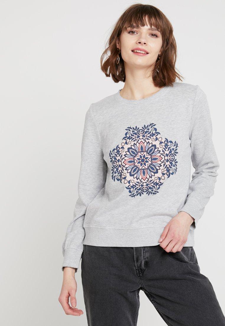 ONLY - ONLMIAMAJA O NECK NEW - Sweater - light grey