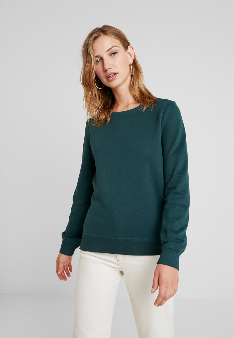 ONLY - CAITLIN SOUND  NECK SLIT - Sweatshirt - green gables