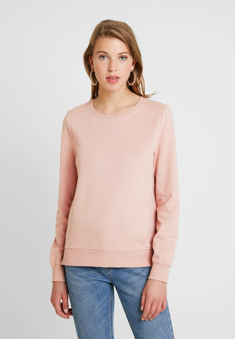 ONLY - CAITLIN SOUND  NECK SLIT - Sweatshirt - misty rose