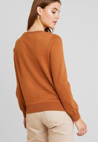 ONLY - CAITLIN SOUND  NECK SLIT - Sweatshirt - argan oil - 2
