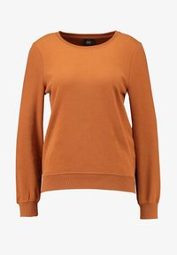 ONLY - CAITLIN SOUND  NECK SLIT - Sweatshirt - argan oil - 4