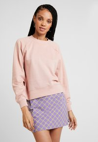 ONLY - ONLFMARIE O NECK  - Sweatshirt - misty rose - 0