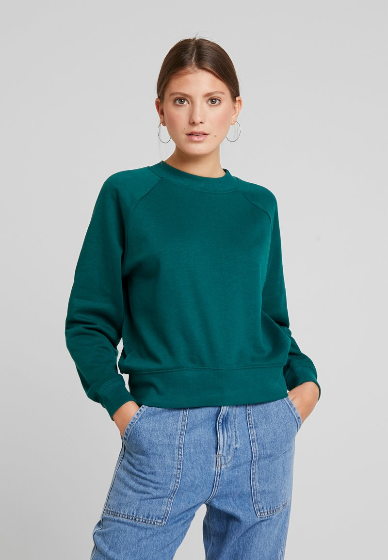 ONLY - ONLFMARIE O NECK  - Sweatshirt - forest biome