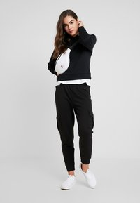 ONLY - ONLNALA HOOD - Jersey con capucha - black - 1
