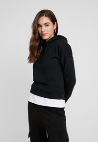 ONLY - ONLNALA HOOD - Jersey con capucha - black - 0