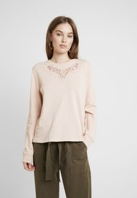 ONLY - ONLHAMBURG O-NECK - Sweater - cameo rose - 0