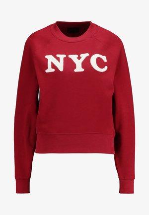 ONYMORGAN NECK - Sweatshirts - merlot