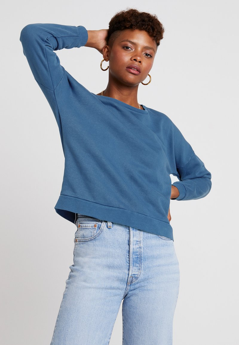 ONLY - ONLPATTI LOGO  - Sweatshirt - sailor blue