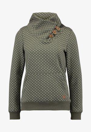 ONLPIP NADINE HIGHNECK - Sweatshirt - tarmac