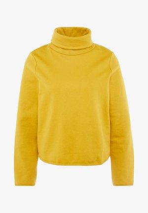 ONLNEO COWLNECK - Sweatshirts - golden yellow