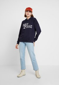 ONLY - ONYFRIDA O-NECK - Hoodie - night sky - 1