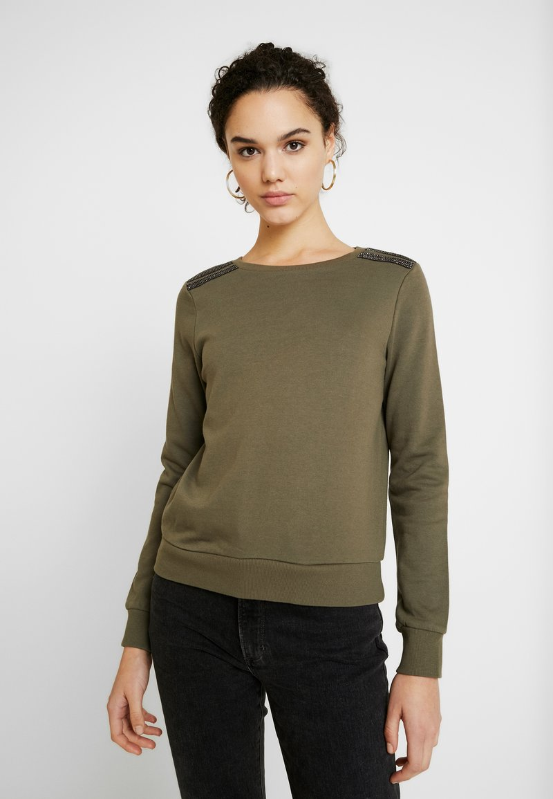 ONLY - ONLPUTTE O-NECK - Sweater - kalamata