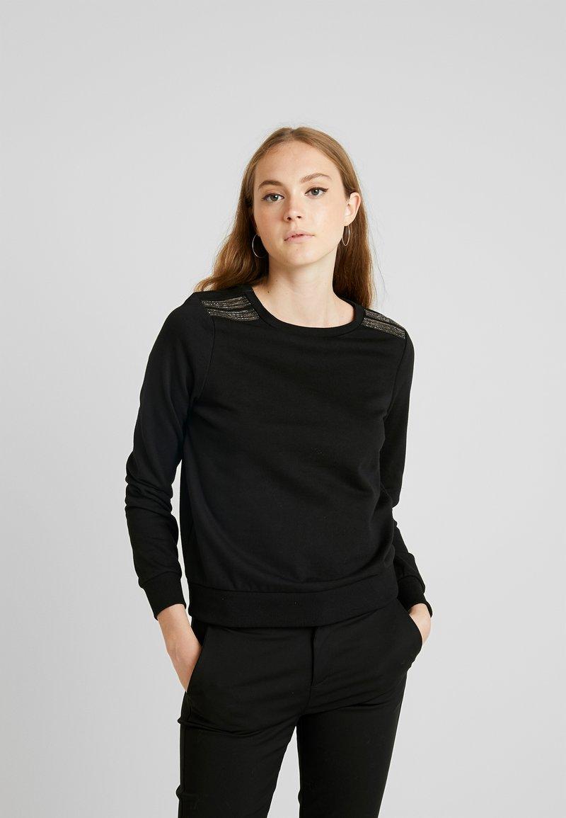 ONLY - ONLPUTTE O-NECK - Sweater - black