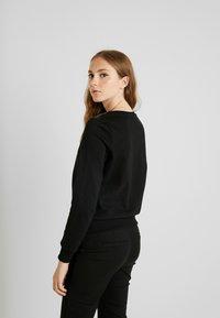 ONLY - ONLPUTTE O-NECK - Sweater - black - 2