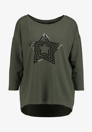 ONLJANA 3/4 O-NECK BOX - Camiseta de manga larga - kalamata