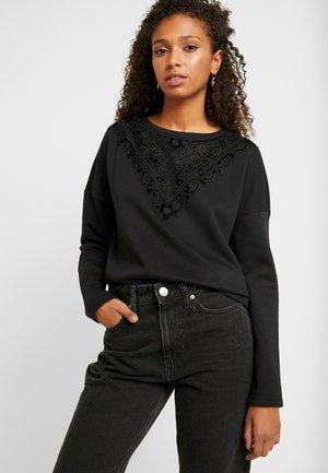 ONLJUNO O-NECK - Sweater - black