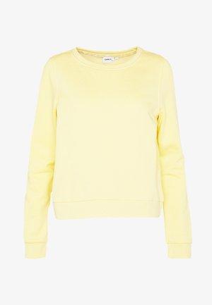 ONLWENDY  - Sudadera - light yellow
