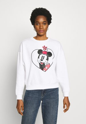 ONLDISNEY  - Sweatshirt - bright white/minnie heart