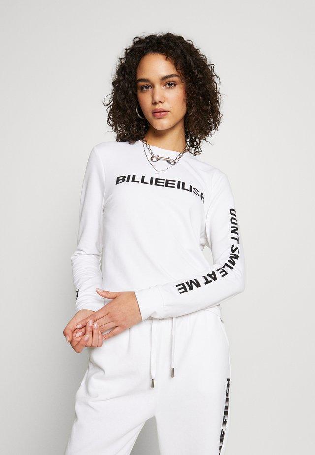 ONLBILLIE EILISH - Longsleeve - bright white