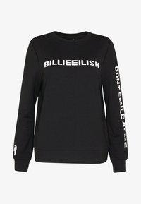 ONLY - ONLBILLIE EILISH - Camiseta de manga larga - black - 4