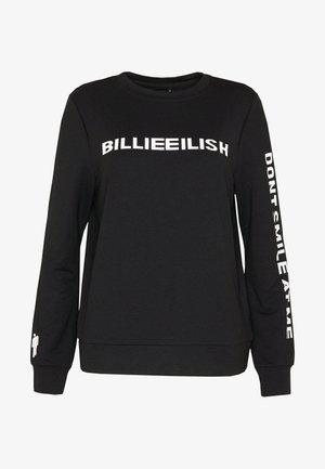 ONLBILLIE EILISH - Long sleeved top - black