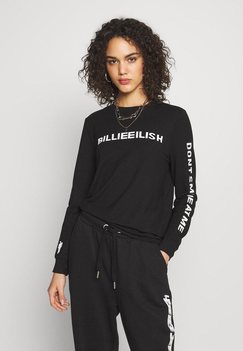 ONLY - ONLBILLIE EILISH - Camiseta de manga larga - black