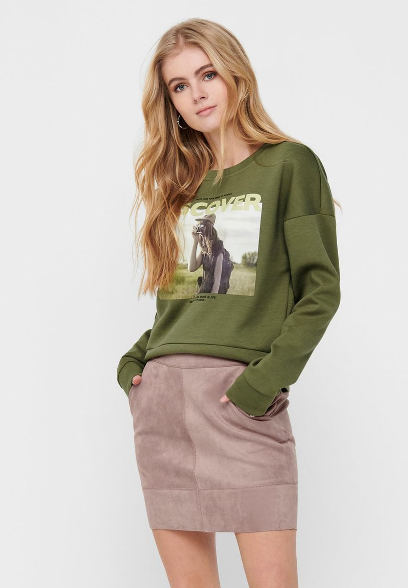 ONLY - Bluza - martini olive