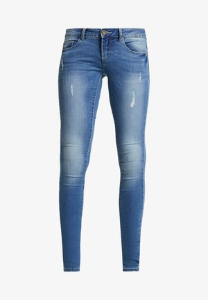 ONLCORAL  - Vaqueros pitillo - medium blue denim