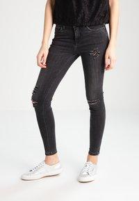 ONLY - ONLKENDELL - Skinny džíny - grey denim - 0