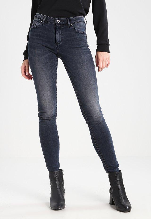 ONLCARMEN  - Jeans slim fit - dark blue