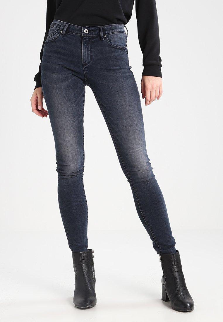 ONLY - ONLCARMEN  - Slim fit jeans - dark blue