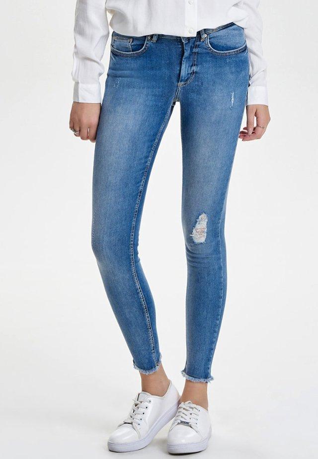 ONLY - Jeans Skinny Fit - light blue denim