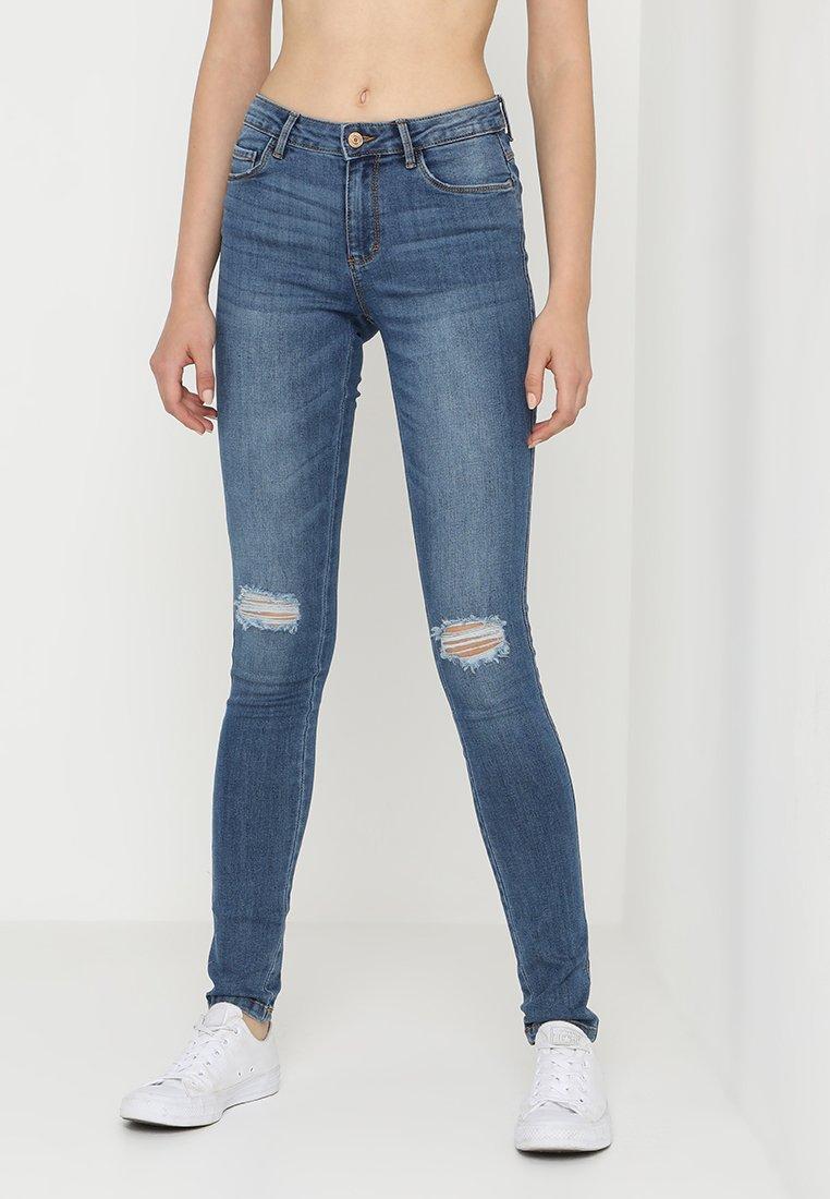 ONLY - ONLBOOM - Jeans Skinny Fit - medium blue denim