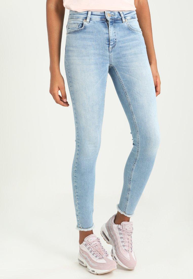 ONLY - Jeans Skinny Fit -  blue denim