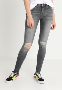 ONLY - ONLZALA - Jeans Skinny Fit - grey denim - 0
