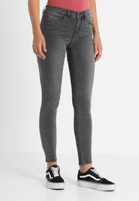 ONLY - ONLROYAL - Jeans Skinny - dark grey denim - 0