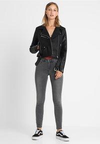 ONLY - ONLROYAL - Jeans Skinny - dark grey denim - 1