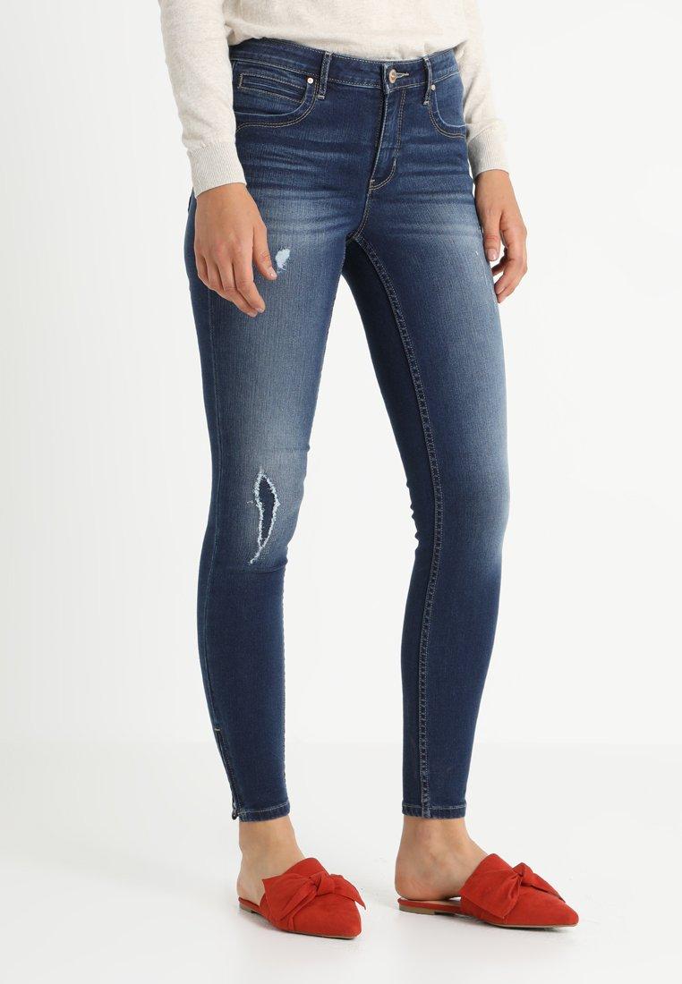 ONLY - ONLKENDELL  - Jeans Skinny Fit - dark blue denim