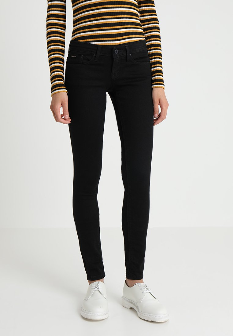 ONLY - ONLCORAL SUPERLOW - Jeans Skinny Fit - black denim