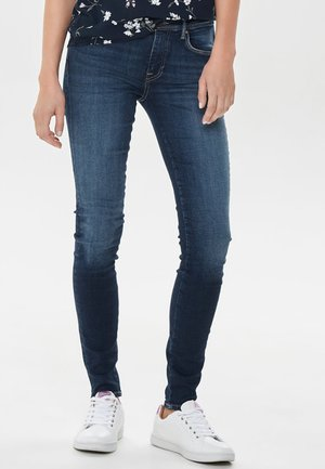 CARMEN REG - Vaqueros pitillo - dark blue denim