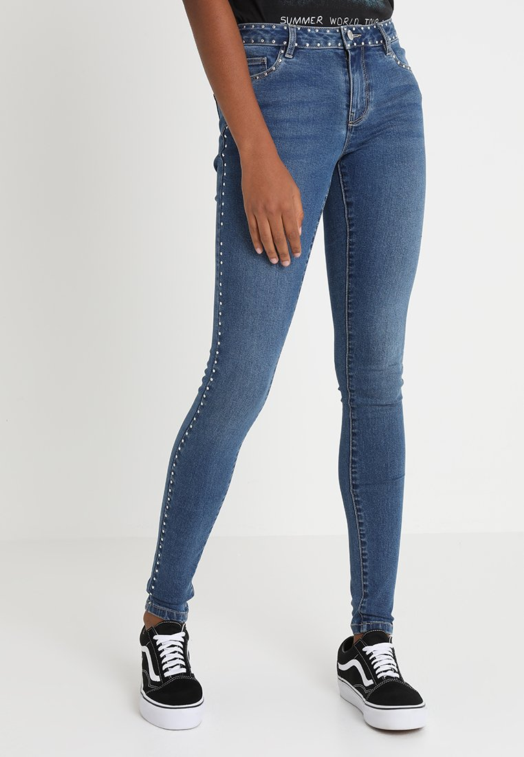ONLY - ONLCARMEN BALI - Jeans Skinny Fit - dark blue denim