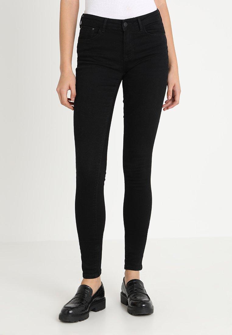 ONLY - ONLDYLAN PUSH UP - Jeans Skinny Fit - black denim
