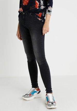 ONLALLAN PUSHUP - Jeans Skinny Fit - black denim
